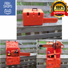 """Powerbox Chainsaw Carrying Case For 455 460 Rancher w/ Standard 20"""" Scabbard New"""