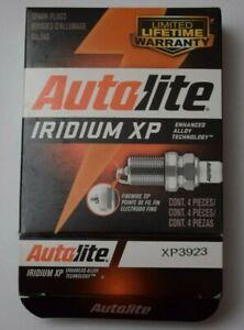 4 x Autolite XP3923 Spark Plugs Iridium - New