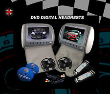 """Car Seat Headrest X2  9"""" DVD Player digital screen with remote controller"""