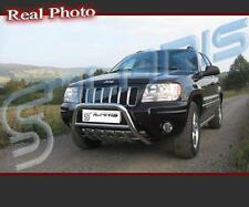 JEEP GRAND CHEROKEE 99-04 SET OF FRONT & REAR BULL BAR / STAINLESS STEEL
