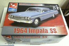 Amt Ertl Classics 1964 Impala Ss 1:25 Skill Level 2 Model Kit #31789 Sh2