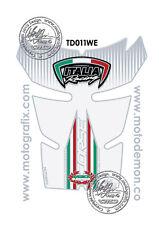 Ducati 848 1098 1198 Motorcycle Tank Pad Tankpad Motografix 3D Gel Protector