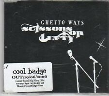 (BW616) Ghetto Ways, Scissors For Lefty - 2006 DJ CD