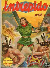intrepido 1951 n.47  intrepido n. 47 anno 1951 Raro 1° edizione 1951 ed.Universo