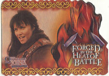 Xena The Quotable Forged in The Heat of Battle Chase Card F4