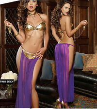 Lady's Star Wars Genie Lingerie Costume Set Ramantic Babydoll Sleepwear 0068