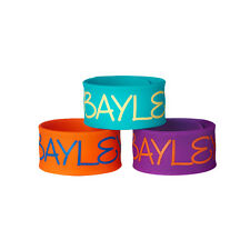 WWE Bayley 3-Piece Slap Bracelet Set vollkommen neu und ungetragen
