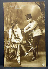 Berky Lily Gozon Alexy 1914 Budapest Oper Theater Foto Autogramm-AK (Lot-H-2281