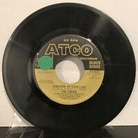 "The Cream – Sunshine Of Your Love 7"" Single 1968 ATCO Records – 45-6544 VG"