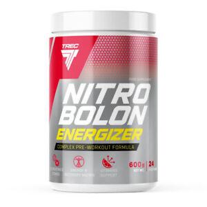 TREC Nitrobolon Energizer 600g NITRIC OXIDE, MUSCLE POWER & PUMP CREATINE STACK