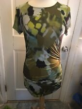 126. Etro silk cocktail dress size 44 made in Italy