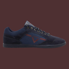 DIESEL S-Aarrow Mens Casual Shoes Blue Iris Cordovan R Size 12.5 New Authentic