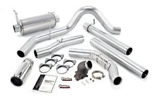 Banks Monster Exhaust & Elbow 99-03 Ford F250/350 Powerstroke 7.3L No Cat Chrome
