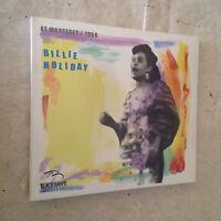 BILLIE HOLIDAY CD AT MONTEREY/1958 BLACK-HAWK 2007 JAZZ