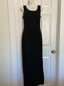 A Pea in the Pod Women Black Casual Dress Maternity Size M