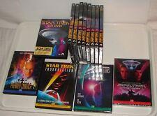 Star Trek 4 films + 9 DVD, ép= 1 à 27 DVD Clean boitier en l'état voir photo