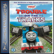 THOMAS & FRIENDS - TROUBLE ON THE TRACKS *BRAND NEW DVD***