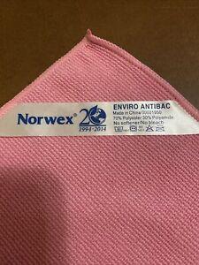 "Norwex  Microfiber Enviro Antibacterial Cloth New Chemical Free 14"" X 14"""