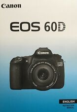 Canon EOS 60D Manual - Printed & Professionally Bound Size A5 - NEW 320 Pages