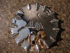 2G2B4G~ ALBA Chrome Wheel Center CAP/ HUB COVER # KD208 (1EA)-FREE SHIP!