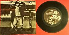 """U2 With B.B. King When Love Comes To Town Italy Lp Vinyl 45 Giri 7"""" rare"""