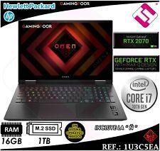 Portatil HP Omen 15-ek0024ns negro