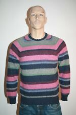 Jeckerson Maglione Uomo Tg. M Sweater Wool Casual Vintage Made in Italy  A14