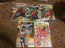 Spider-man (1990) Lot #16 21, 36, 45, 46 VF/NM Todd McFarlane