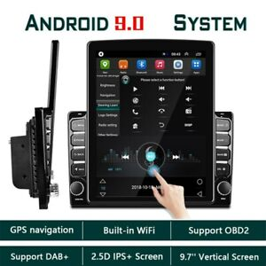 """9.7"""" 2Din Android 9.0 Car Radio Stereo MP5 Player Bluetooth WIFI GPS Navigation"""