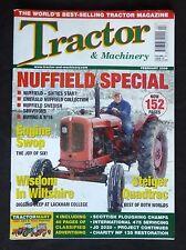 Tractor & Machinery, Feb 2006, Nuffield special, Steiger Quadtrac, JD 2020 ++.