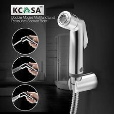 "KCASAâ""¢ Double Modes Pressurize Bidet Shower Toilet Seat Shattaf Bathroom Kitch"