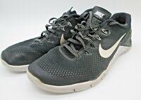 Nike Metcon 4 Men's Cross-fit Training Shoes US Size 10 Black White AH7453-003