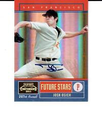 2011 Playoff Contenders Future Stars Autographs #14 Josh Osich SF Giants 132/199