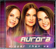AURORA - BIGGER THAN US (2001) - CCM CD ALBUM