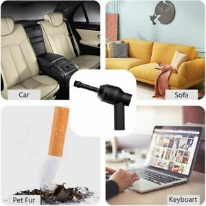 Portable Air Duster Electric Cleaner Cleaning Blower For Cars PCs Keyboard