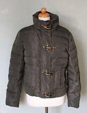 MALVIN Jacke dunkelgrün khaki Steppjacke Winter warm kurz Gr. 38 M (S20)*
