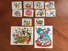 """Disney 1995 GHANA """"60th Anniversary of Donald Duck """"  10 Stamps plus 2 ss!  MNH"""