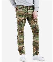 SZ 32x32 Levis Premium 511 Slim Fit Camo Green Jeans Reflective Scotchlite