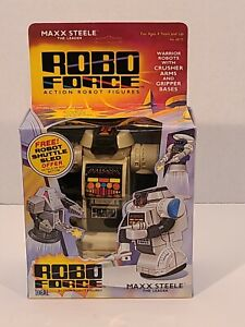 ROBO FORCE MAX STEELE TOY 1980S IN BOX