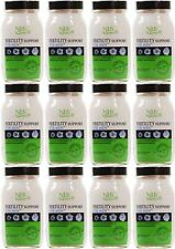 Práctica de salud natural de la fertilidad Soporte para hombre - 90 cápsulas (paquete de 12)