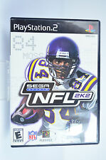 Sega Sports NFL 2K2 for Playstation 2 video game