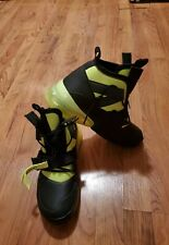 NEW Nike Air Force 270 Utility Shoes Black/Volt AQ0572 001 Men's Size 9.5