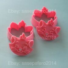 Aristocats Marie Cat cookie cutter with stamps 4 pieces set