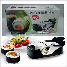 Kitchen Perfect Magic Roll Sushi DIY Maker Cutter Roller Machine Bento Mold 351