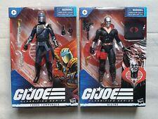 2021 G.I.Joe Classified Series Cobra Commander/Destro Lot MIB Sealed