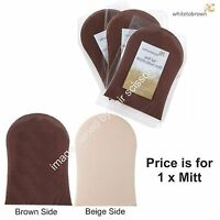 White To Brown Self Fake Tan Application Mitt For all Types Of Lotions