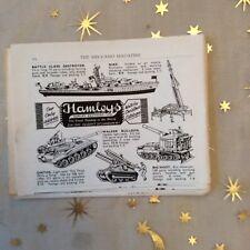 g1k ephemera vintage toy advert hamleys walker bulldog ontos ship