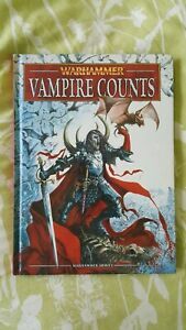 Games Workshop Warhammer 8th Edition Army Book Vampire Counts Lot 2