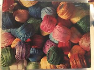 Springbok GREAT BALLS OF YARN 500 PC. JIGSAW PUZZLE #4167 CLEAN