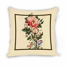 """Persian tile """"flower and bird"""" Cushion cover Pillow case Decorative pillow"""